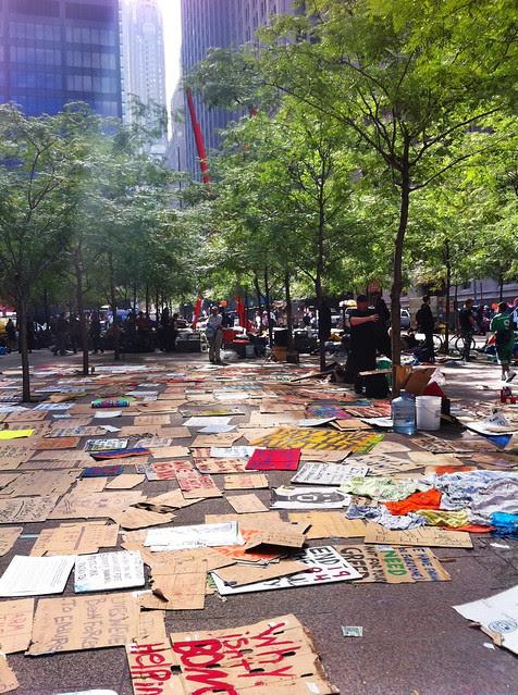 Zuccotti Park/Liberty Square