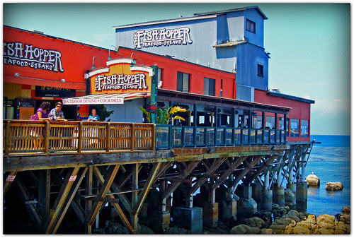 Fish Hopper Restaurant on Cannery Row