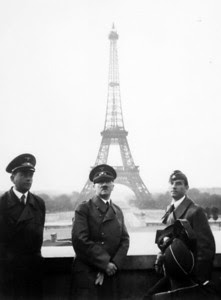 Hitler in Paris 1940 - Click for Larger Image and Galleries