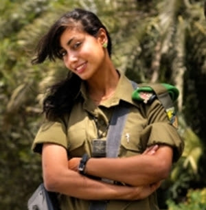 Elinor Joseph, The Israel Defense Force's First Arab Female Combat Soldier.