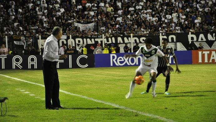 Luverdense x Corinthians Copa do Brasil (Foto: Robson Boamorte)