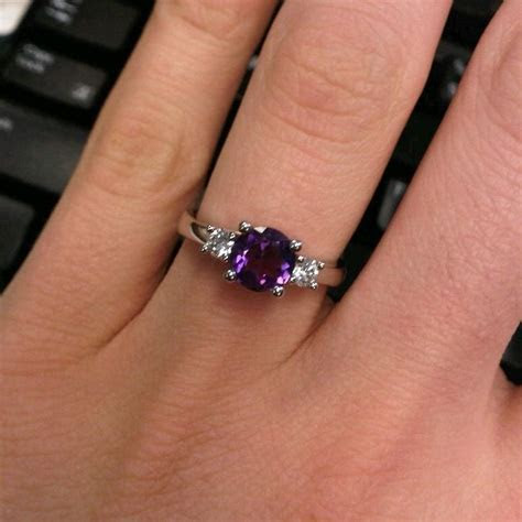 Best 25  Purple Rings ideas on Pinterest   Amythest ring