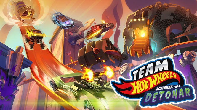 Team Hot Wheels - Acelerar para Detonar | filmes-netflix.blogspot.com