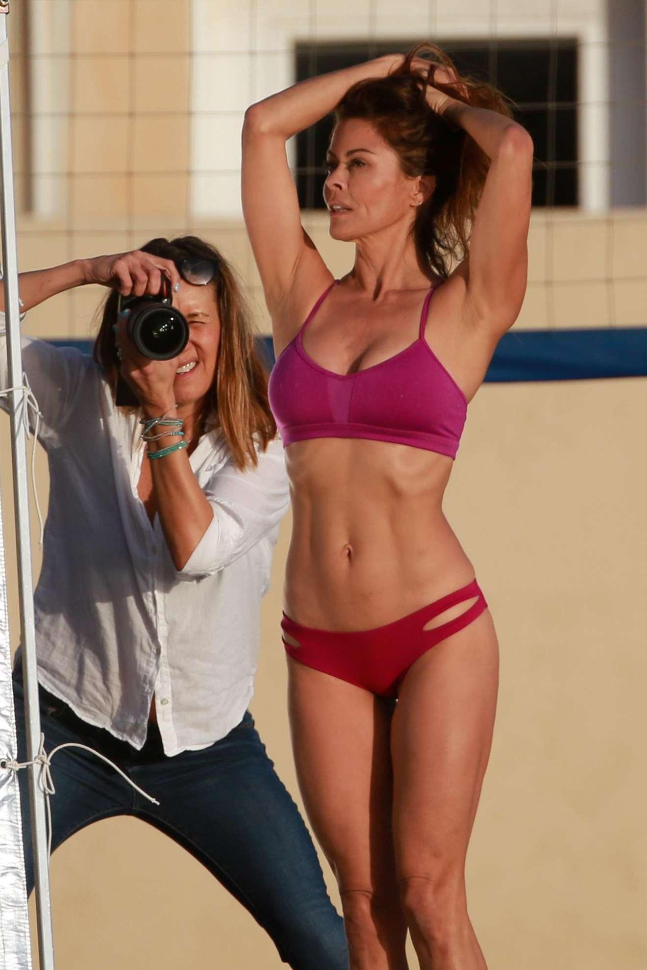 Brooke Burke – Brooke Burke Body video shoot in Malibu