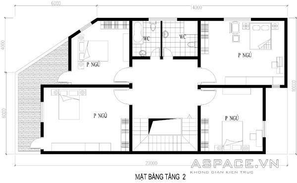 Tư vấn thiết kế nhà ở kết hợp kinh doanh trên đất 10x20m | 3