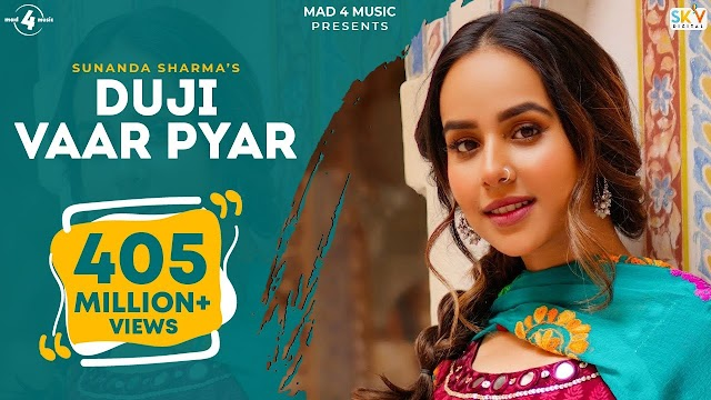 Duji Vaar Pyar Lyrics – Sunanda Sharma   Punjabi Sad Song   Jaani   Gaana Originals