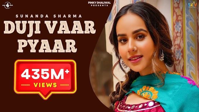 Duji Vaar Pyar Lyrics - Sunanda Sharma - Vidplaystatus.xyz