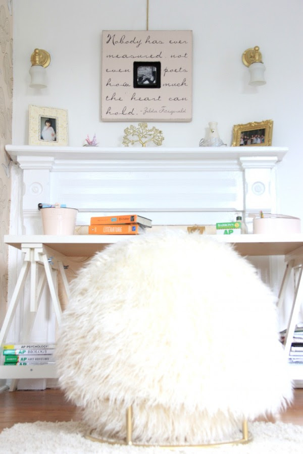 IKEA DESK WITH PBTEEN CHAIR