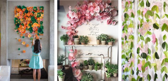 Periodicos Murales Con Flores