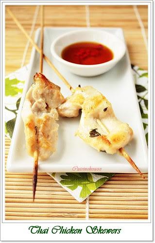 Moo Ping(Thai Chicken Skewers)
