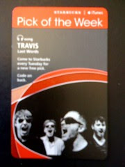 Starbucks iTunes Pick of the Week - Travis - Last Words