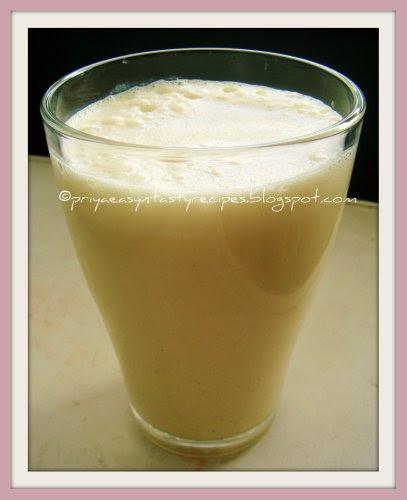 Caramel Vanilla Shake