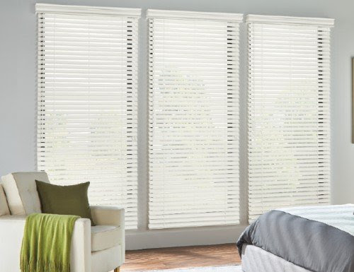 Decorative Fabric Tape Ladder Faux Wood Blinds Fauxwood