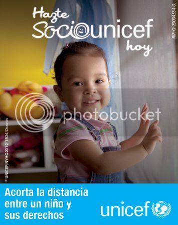Hazte socio de UNICEF - Become a member of UNICEF
