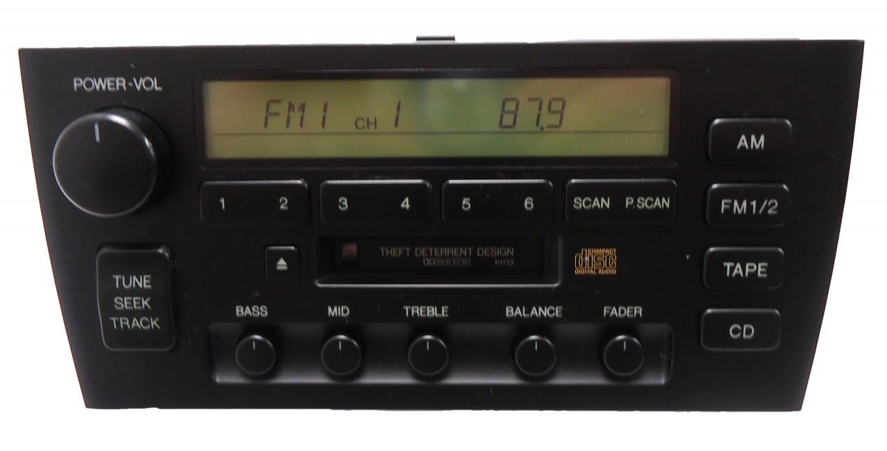 32 1997 Lexus Es300 Radio Wiring Diagram - Wire Diagram ...