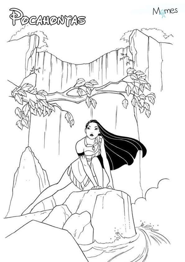 Coloriages Disney Princesse Coloriage Princesse Momesnet