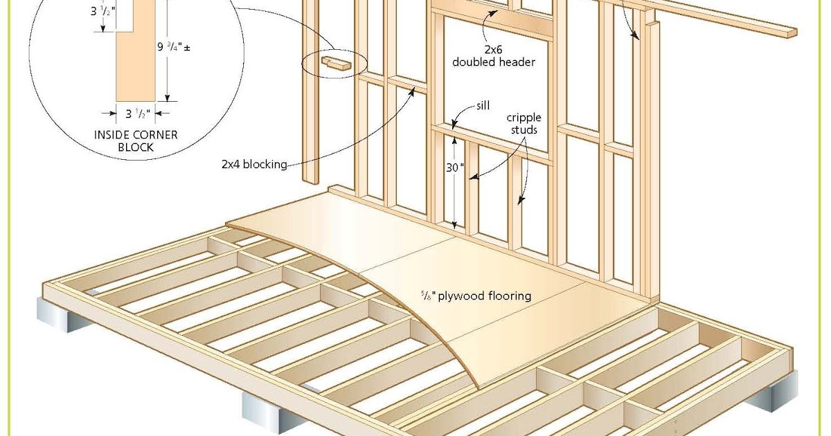 Loft shed plans free for Free barn plans with loft