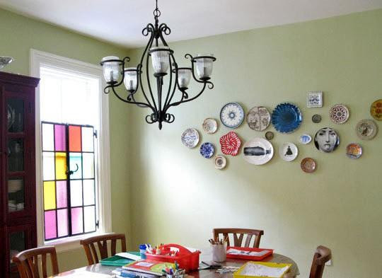 Mix Whimsical Plates With Traditional For An Eclectic Bohemian Look