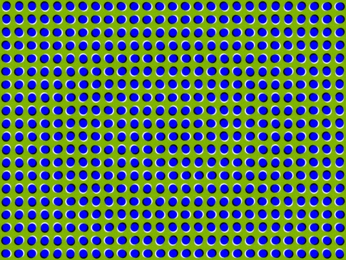 Warped  Dotted Surface