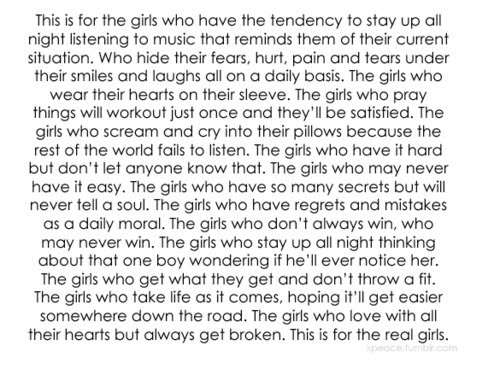 Cute Girls Quotes Tumblr Tumblr Girls Quotes Honey