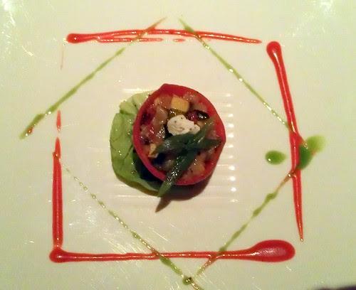 Piquillo Pepper w Provencal Vegetables