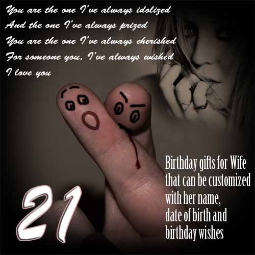 Creative 21st birthday gift ideas for her, wife-husband pops