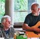 Graham Nash with David Gilmour