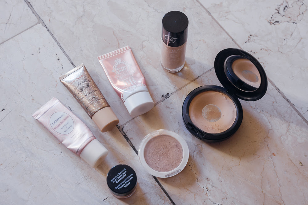what's in my makeup bag | chainyan.co