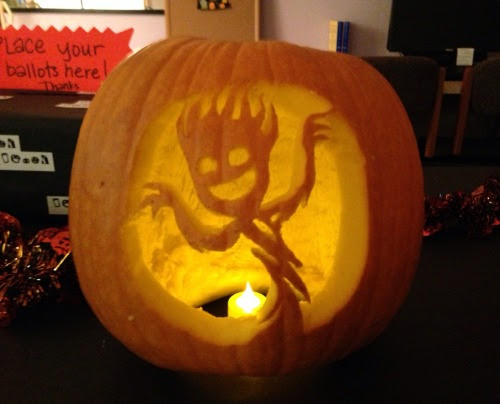 I carved a Groot!