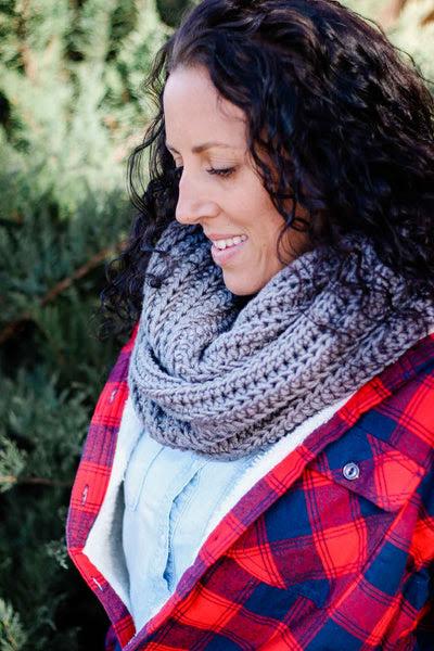 Crochet Kit - Hideaway Cowl