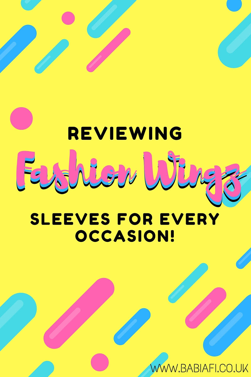 Reviewing Fashion Wingz - Sleeves for Every Occasion!