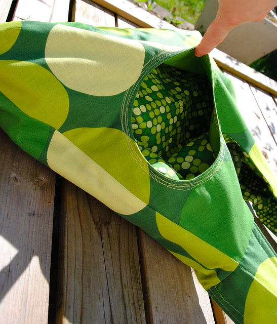 Omkeerbare Zomertas - Reversible Summer bag