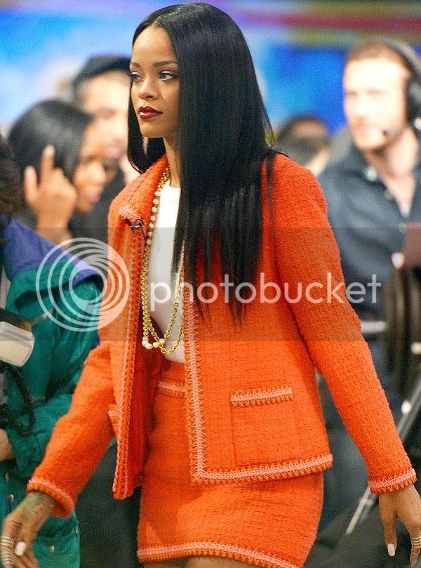 Rihanna discusses Grammy win, Viva Glam, & new music on 'GMA'...