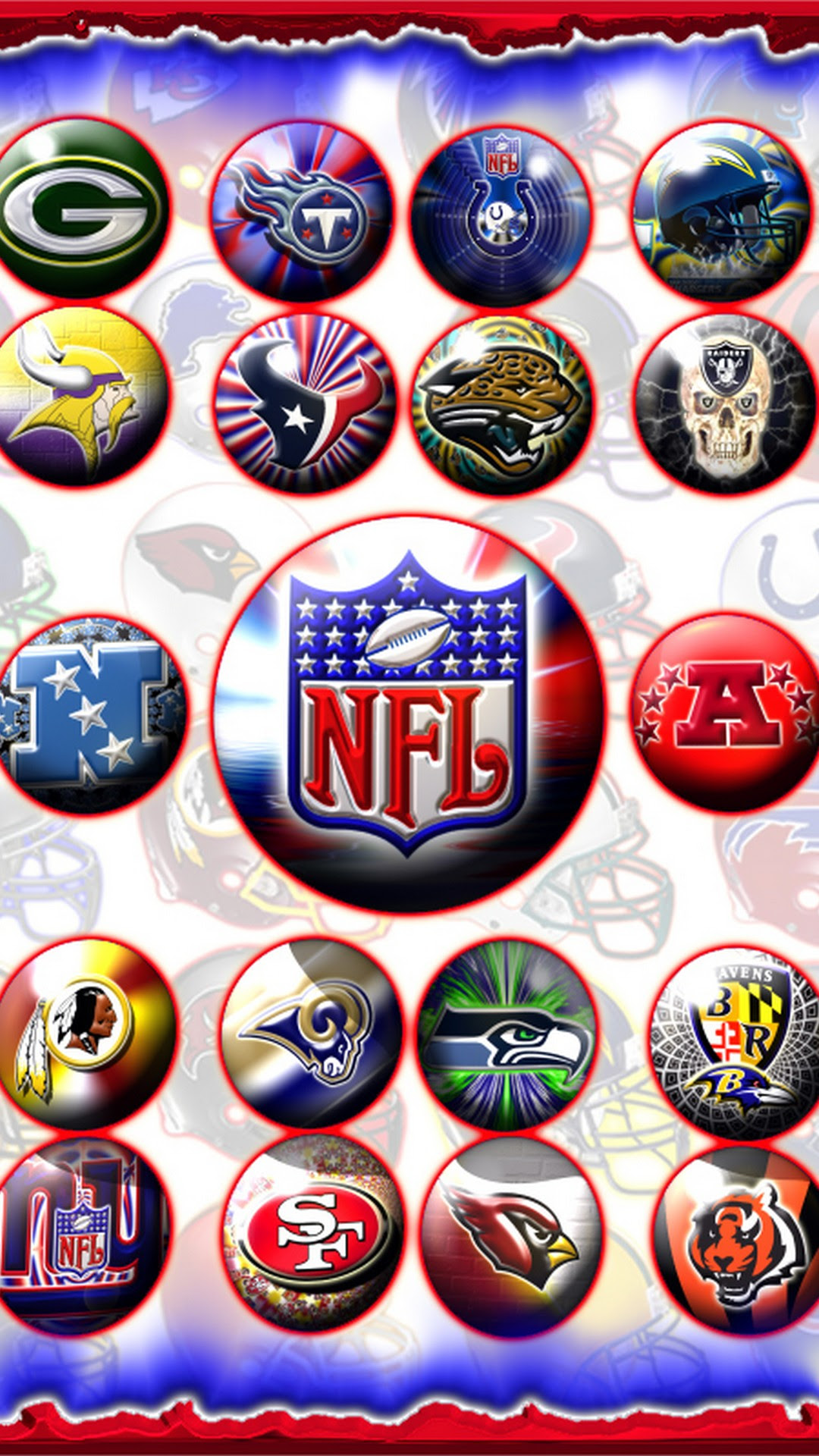 NFL iPhone Wallpapers   2019 NFL Football Wallpapers