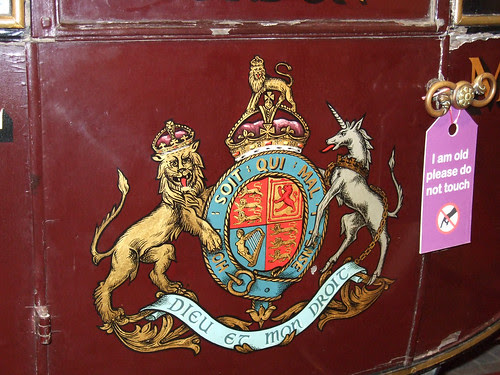 Royal Mail Coach - Coat of Arms detail