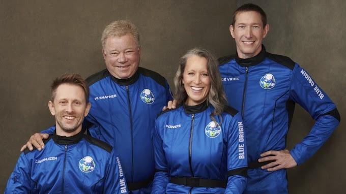 FOX BIZ NEWS: Shatner will 'easily survive' Blue Origin space flight: Former astronaut