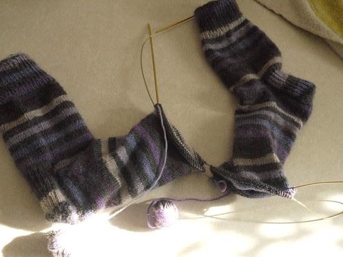 First socks EVah!!