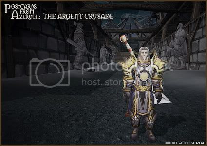 Postcards from Azeroth: The Argent Crusade, by Rioriel Whitefeather