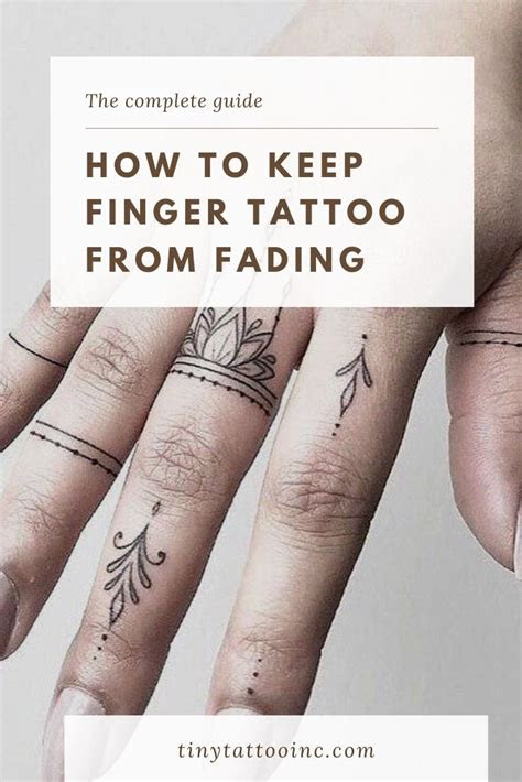 finger tattoos fading complete guide