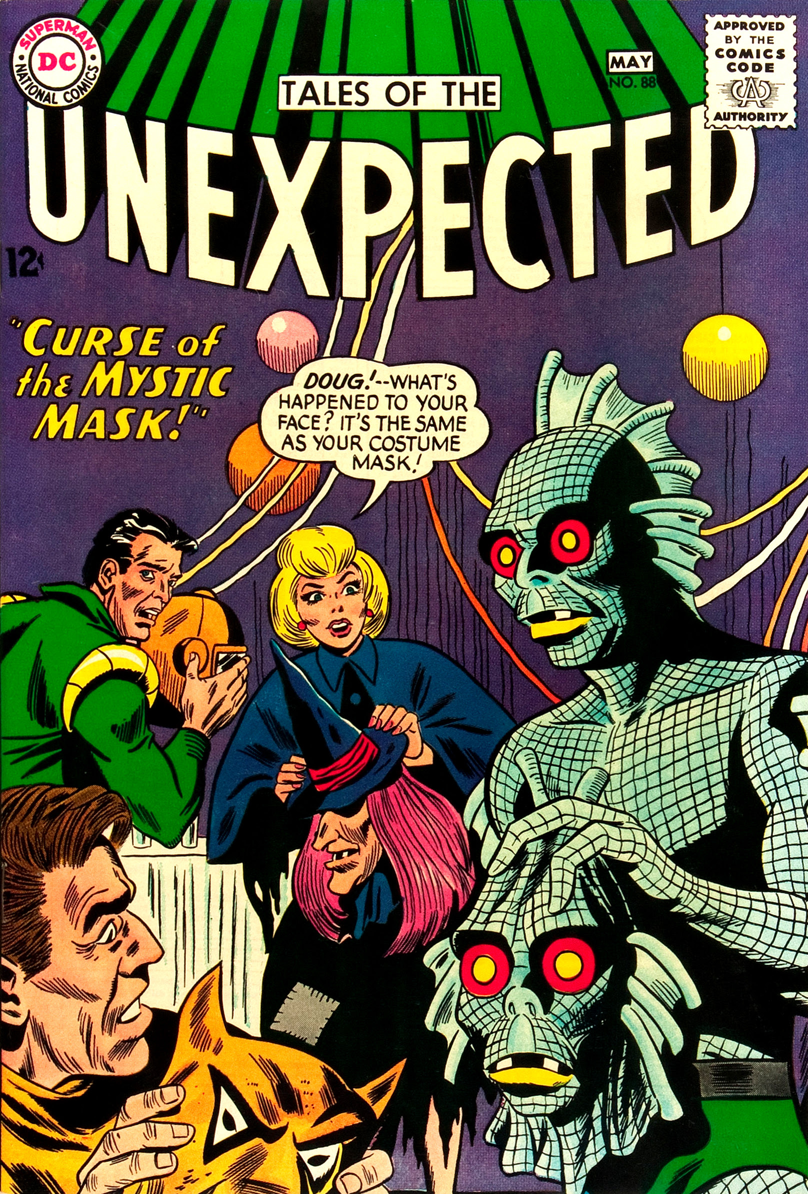 Tales of the Unexpected #88 (DC, 1965) Dick Dillin cover