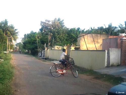 Cycling boy