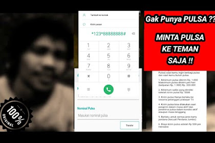 UPDATE TERBARU!! CARA TRANSFER PULSA 3 THREE 2019