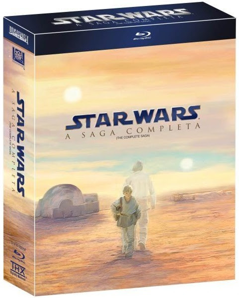 Box DVD Star Wars