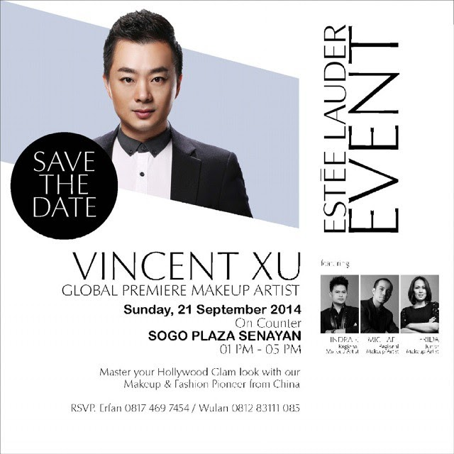 [EVENT] Estee Lauder's Global Premiere Make Up Artist ft. Vincent Xu
