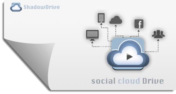 ShadowDrive, para compartir archivos en Facebook