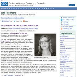 CDC's Safe Healthcare Blog
