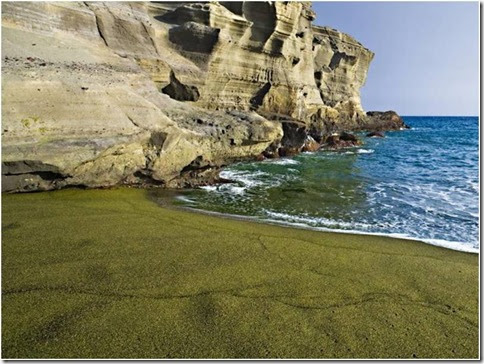 Praia de Papakolea Beach8