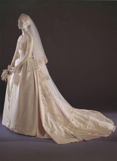 Grace Kelly's 1956 Helen Rose designed wedding dress   The
