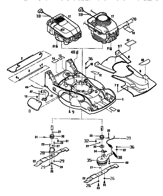 33 troy bilt riding lawn mower parts diagram