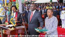 Kenia Amtseinführung Präsident Kenyatta